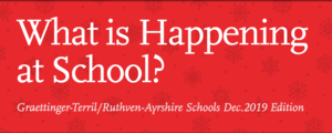 Whats Happening at School? December 2019