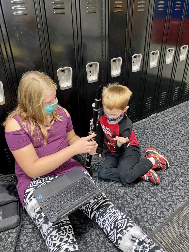 A student hearing about Clari and Clarinet