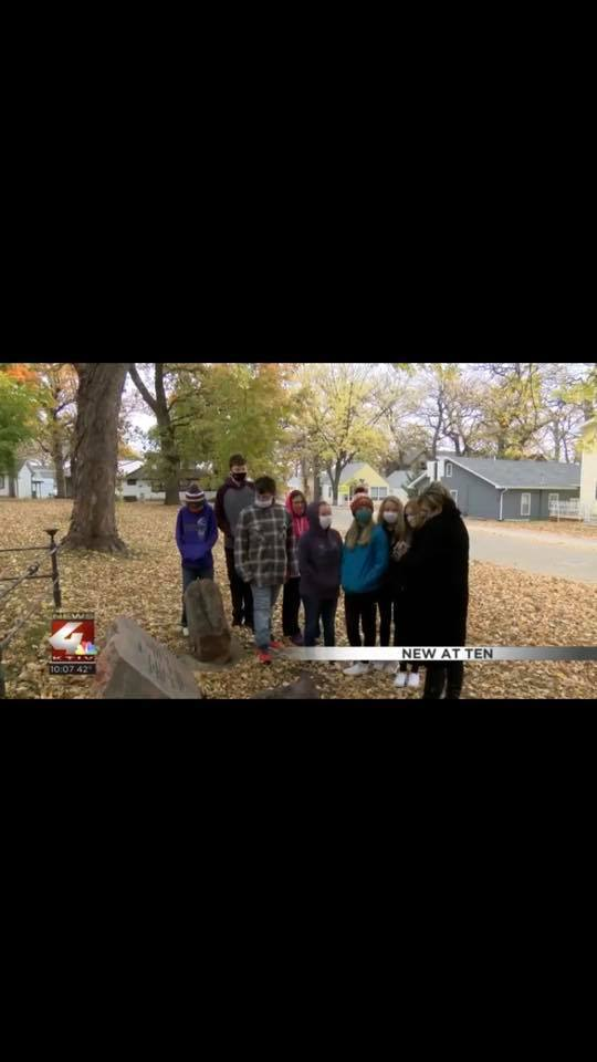 7th Graders KTIV News Interview