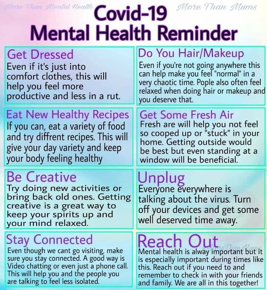 mental health reminder