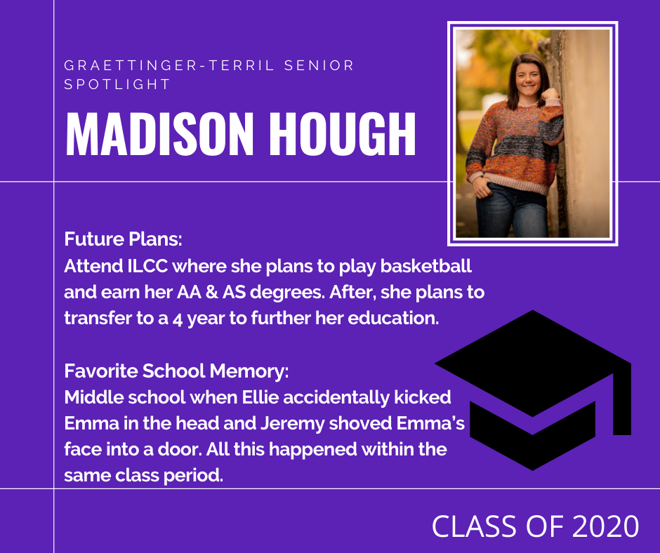 Madison Hough Senior Spotlight