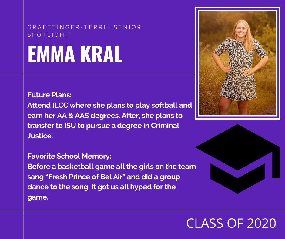 Senior Spotlight: Emma Kral