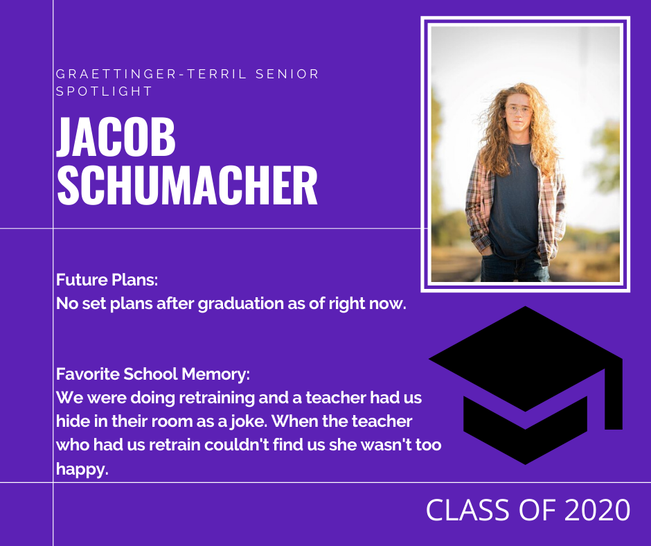 Senior Spotlight: Jacob Schumacher