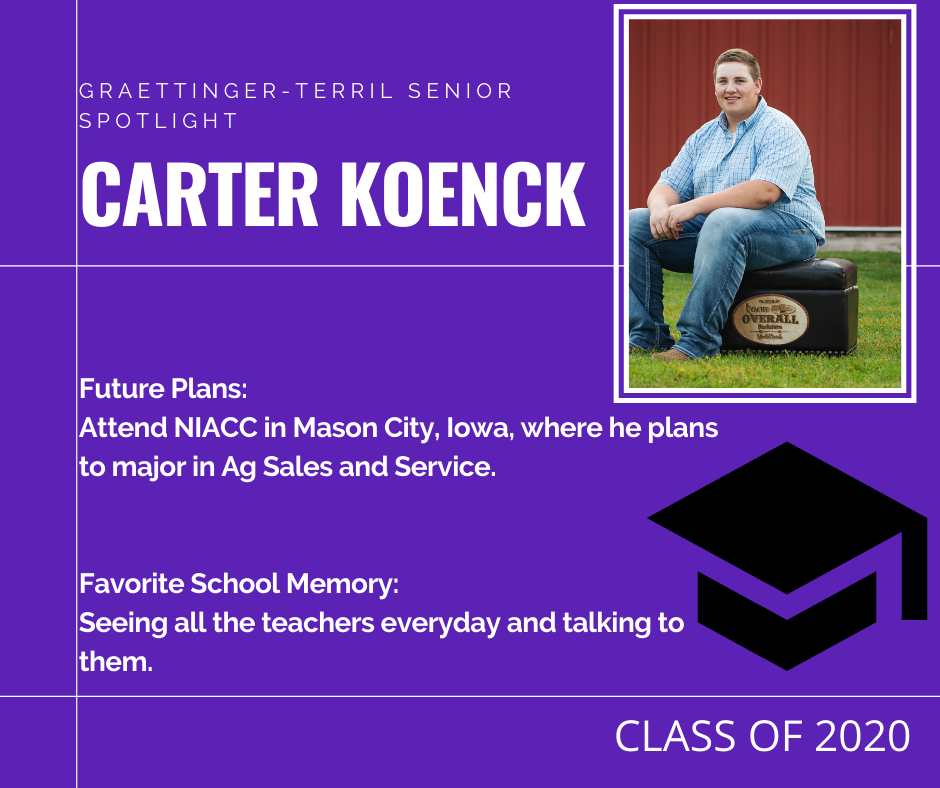 Senior Spotlight: Carter Koenck