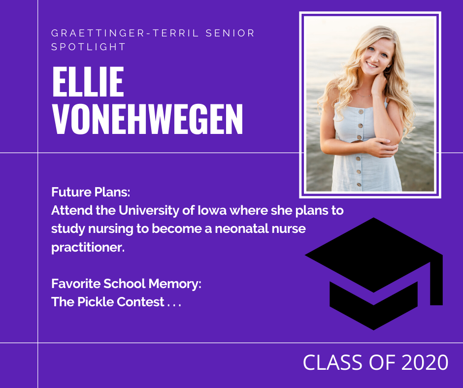 Senior Spotlight: Ellie VonEhwegen