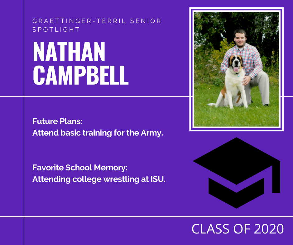 Senior Spotlight: Nathan Campbell