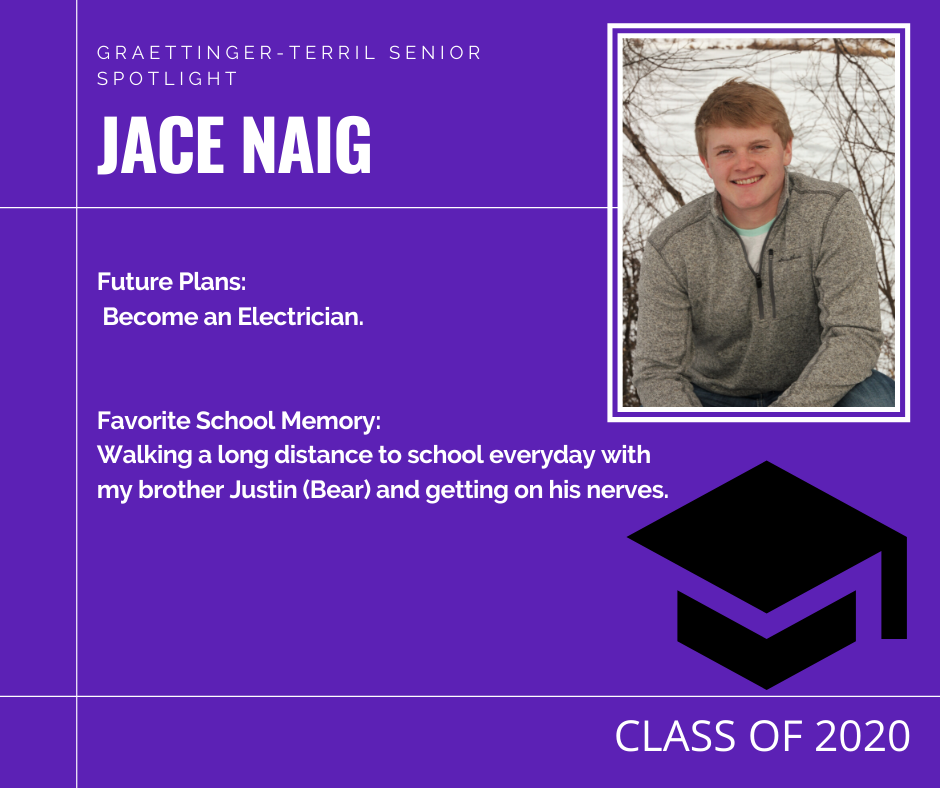 Senior Spotlight: Jace Naig