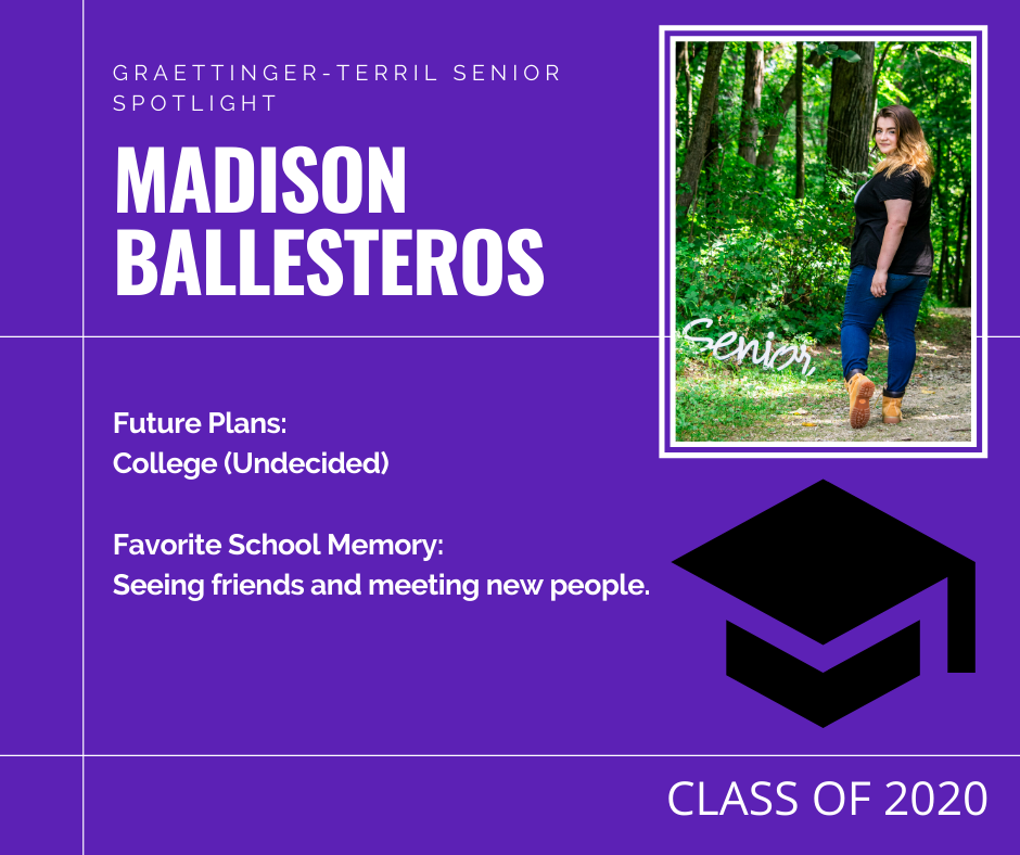Senior Spotlight: Madison Ballesteros