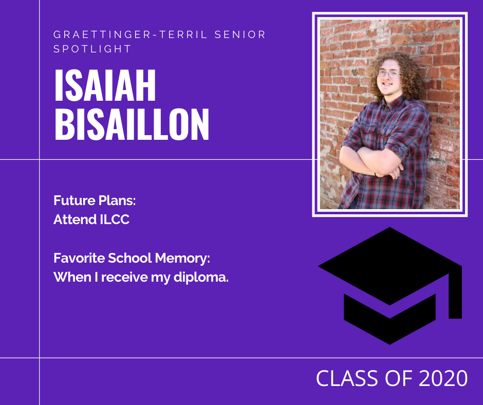 Senior Spotlight: Isaiah Bisaillon