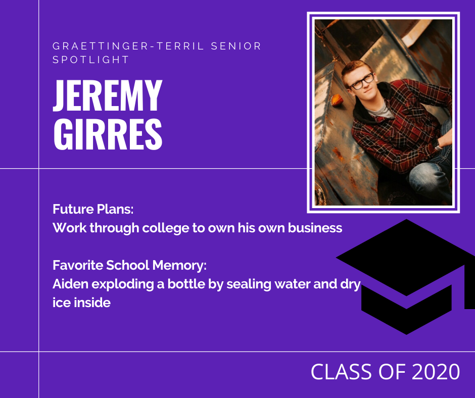 Senior Spotlight: Jeremy Girres