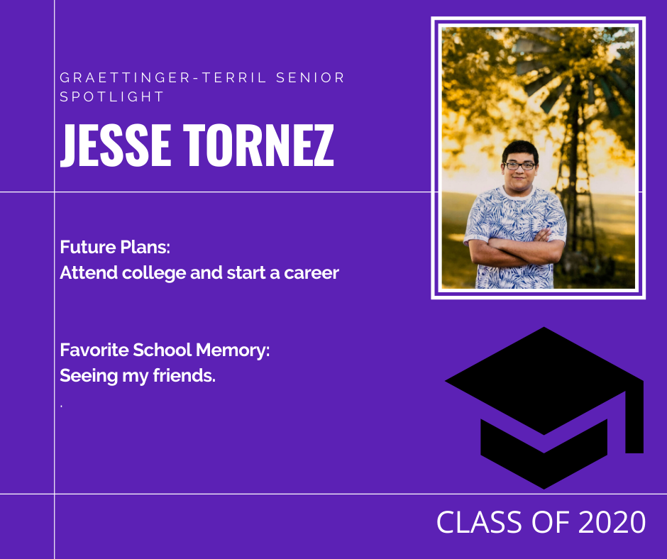 Senior Spotlight: Jesse Tornez