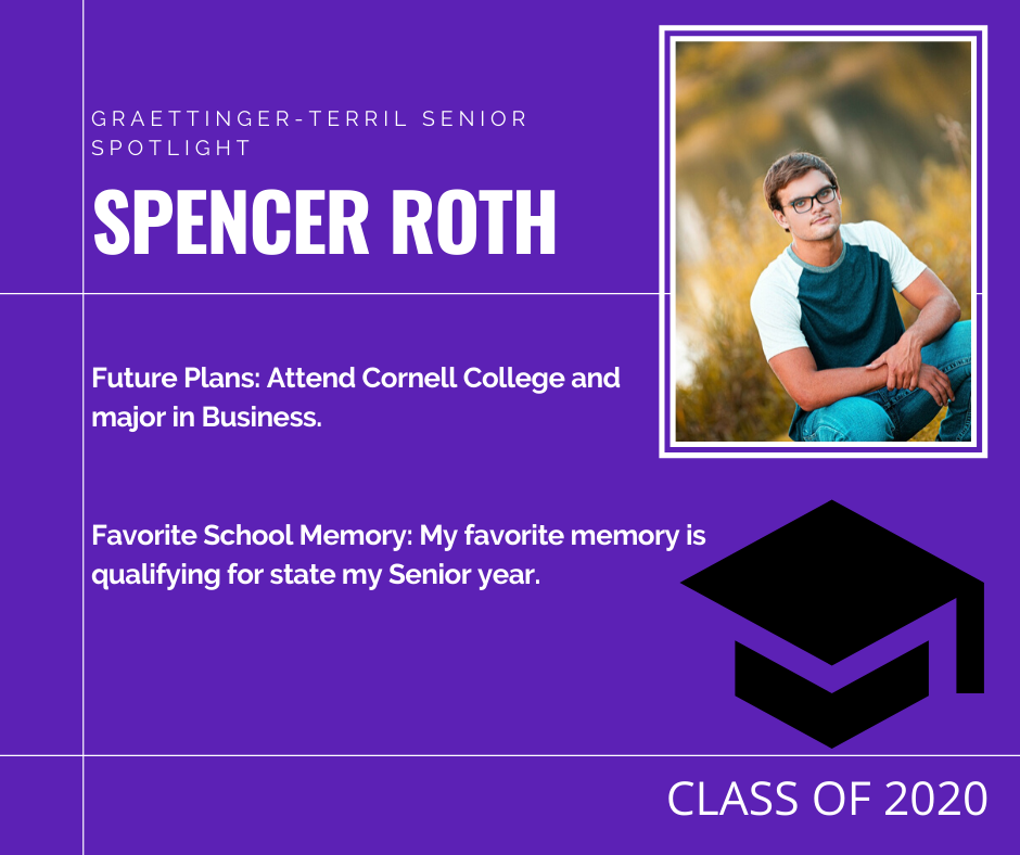 Senior Spotlight: Spencer Roth