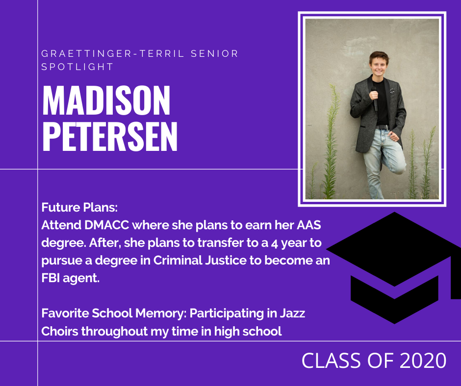 Senior Spotlight: Madison Petersen