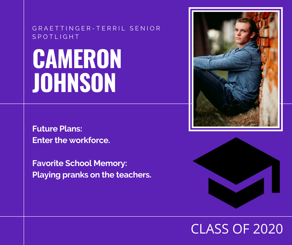 Senior Spotlight: Cameron Johnson