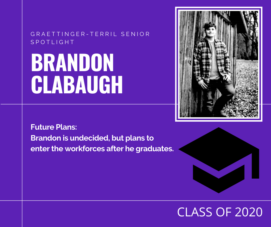Senior Spotlight: Brandon Clabaugh
